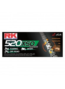 RK EXCEL Drive Chain - 520XSO RX Ring Chain