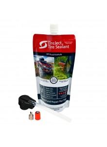 TireJect Tire sealant Kit 10 oz Liquid