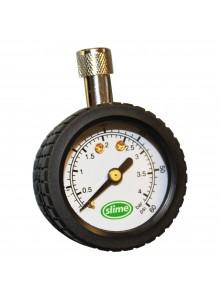 SLIME Mini magnetic dial gauge Tire Gauge