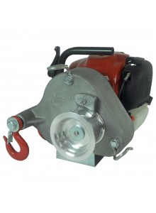 PORTABLE WINCH Gas-Powered Portable Capstan Winch, Power of 1550lbs