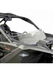 Direction 2 Short Windshield - Scratch Resistant Can-am