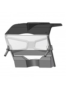 Direction 2 Rear Windshield CFMoto