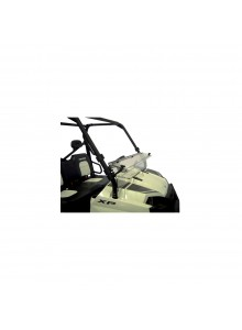 Direction 2 Half Windshield - Scratch resistant Polaris