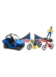 New Ray Toys Nitro Circus Playset Scale Model