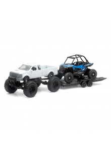 New Ray Toys Scale Model - Truck with Polaris ATV