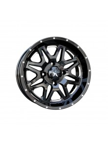 MSA WHEELS M26 Vibe Wheel (Milled) 14x7 - 4/110 - +0 mm