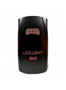 QUAKE LED Light Bar LED Switch Rocker - QRS-LLB-R