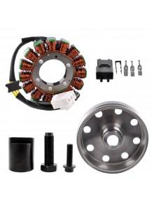 Kimpex HD Stator, Kokusan Flywheel & Puller Recall Kit Fits Aprilia - 225753