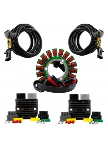 Kimpex HD Dual Output Stator, Series Regulators, Harnesses Kit Polaris - 225818