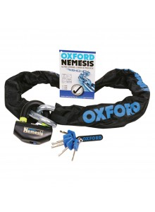 Oxford Products Nemesis Ultra Strong Chain and Padlock