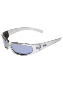 GLOBAL VISION Chicago FM Sunglasses Silver