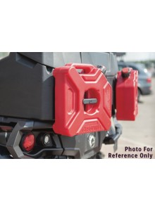 3L FUEL GAS PETROL JERRY CAN CONTAINER WITH UNIVERSAL BRACKET