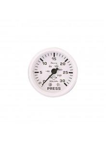 Faria Dress White Series Water Pressure Gauge Boat - 705859