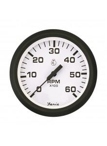 Faria Euro White Series Tachometer Boat - 706118