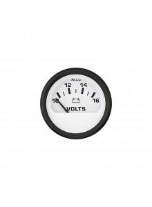 Faria Euro White Series Voltmeter Boat - 706143