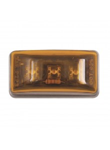 Optronics Sealed Mini Rectangular LED Marker/Clearance light Amber