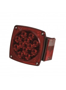 "Optronics Universal Under 80"" Combination LED Tail Light Red"