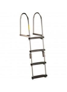 GARELICK Transom Pontoon Ladder Foldable - 2 to 4