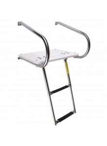 GARELICK Swim Platform with Telescoping Ladder Telescopic - 2