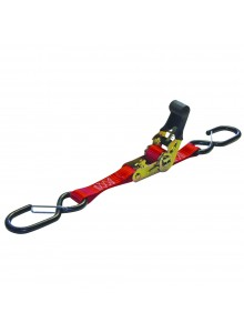 ERICKSON HD Motorcycle Strap with Safety Hook 6' - 1200 lbs