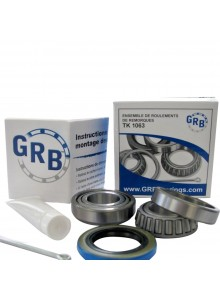 GRB BEARING Trailer Wheel Bearing Kits, TK 1063