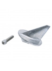 PERFORMANCE METAL Trim Tab Anode Fits Mercury