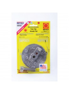 PERFORMANCE METAL Trim Tab Anode Flat Mercury