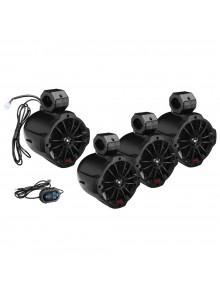 Boss Audio Audio Speaker & Amplifier System Bluetooth B64ABT Universal