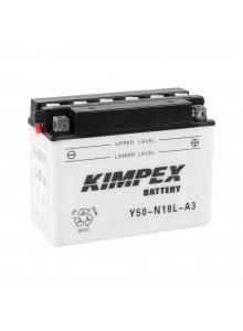 Kimpex Battery YuMicron Y50-N18L-A3