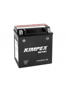 Kimpex Battery Maintenance Free AGM High Performance YTX20CH-BS