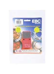 "EBC  ""X"" Carbon Graphite Brake Pad Carbon graphite - Front/Rear"