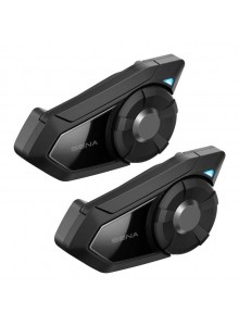 30K Motorcycle Bluetooth with Mesh Intercom Dual Pack